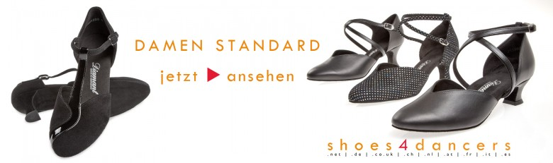 Diamant Damen Standard Tanzschuhe - Made in Germany