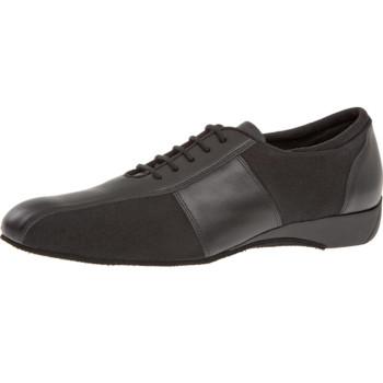 Diamant - Herren Ballroom Sneakers 143-225-380 - Leder/Mikrofaser - 2,5 cm Keil-Absatz [UK 5,5]