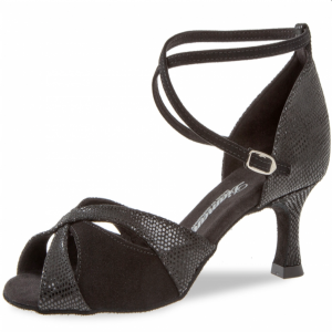 Diamant - Mujeres Zapatos de Baile 141-077-084 - Ante Negro