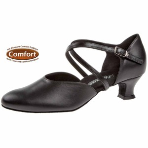 Diamant - Ladies Dance Shoes 148-112-034 - Leather [Extra Wide]