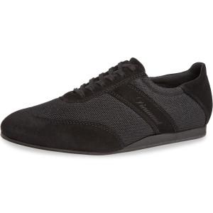 Diamant - Uomini Social Dance Sneakers 192-425-577-V - Scamosciata Negro - VarioSpin