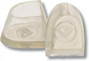 Diamant - Protectores de Tacón Flare [1 Par | Transparente]