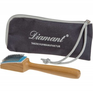Diamant - Special brush for Suede Soles [with Case]