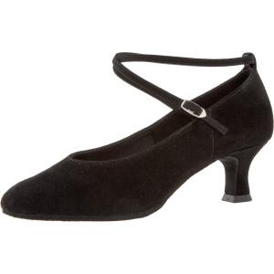 Diamant - Ladies Dance Shoes 075-068-001 - Black Suede