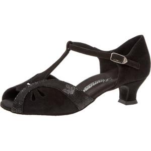 Diamant - Mujeres Zapatos de Baile 019-011-208 - Ante Negro