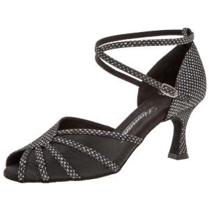 Diamant - Damen Tanzschuhe 020-087-183 - Textil/Mesh - 6,5 cm Flare [UK 7,5]