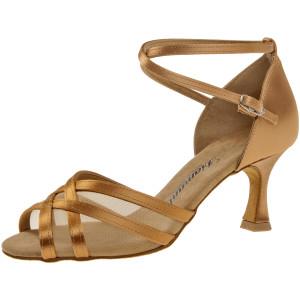 Diamant - Mujeres Zapatos de Baile 035-087-087 - Satèn Bronce
