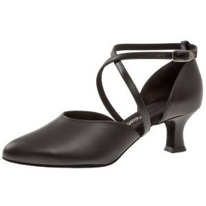 Diamant Femmes Chaussures de Danse 141-087-389 - Cuir/Suéde Rouge - 6,5 cm Flare [UK 3,5]