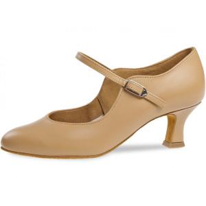 Diamant - Ladies Dance Shoes 050-068-095 - Beige Leather