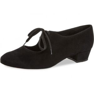 Diamant - Ladies Dance Shoes 057-029-001 - Black Suede