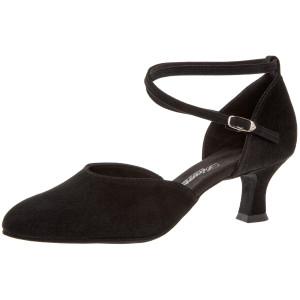 Diamant - Ladies Dance Shoes 058-068-001 - Black Suede