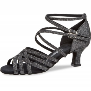 Diamant - Ladies Dance Shoes 108-036-519 - Brocade Black
