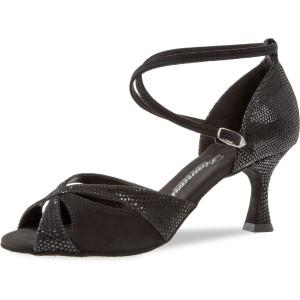 Diamant - Mulheres Sapatos de Dança 141-087-084 - Camurça Preto