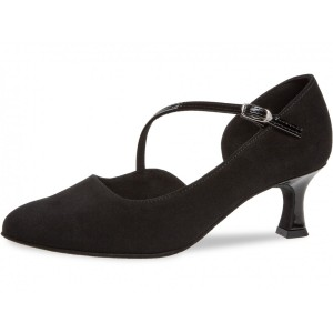 Diamant - Ladies Dance Shoes 174-106-008 - Black Suede