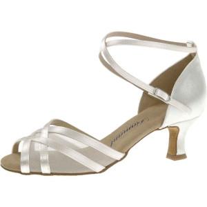 Diamant - Damen Tanzschuhe 035-077-092 - Satin Weiß