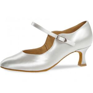 Diamant - Damen Tanzschuhe / Brautschuhe 050-106-092 - Weiß