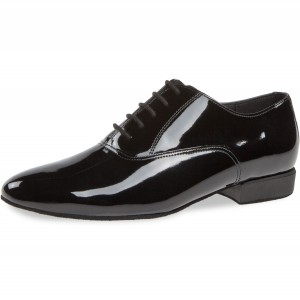 Diamant - Men´s Dance Shoes 180-075-038 - Black Patent