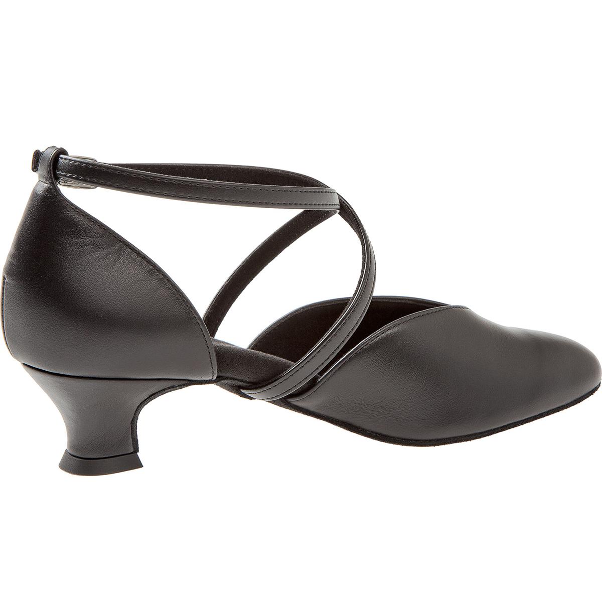Danse De 107 Noir 013 Femmes Chaussures 034 Cuir Diamant DYWE9H2I