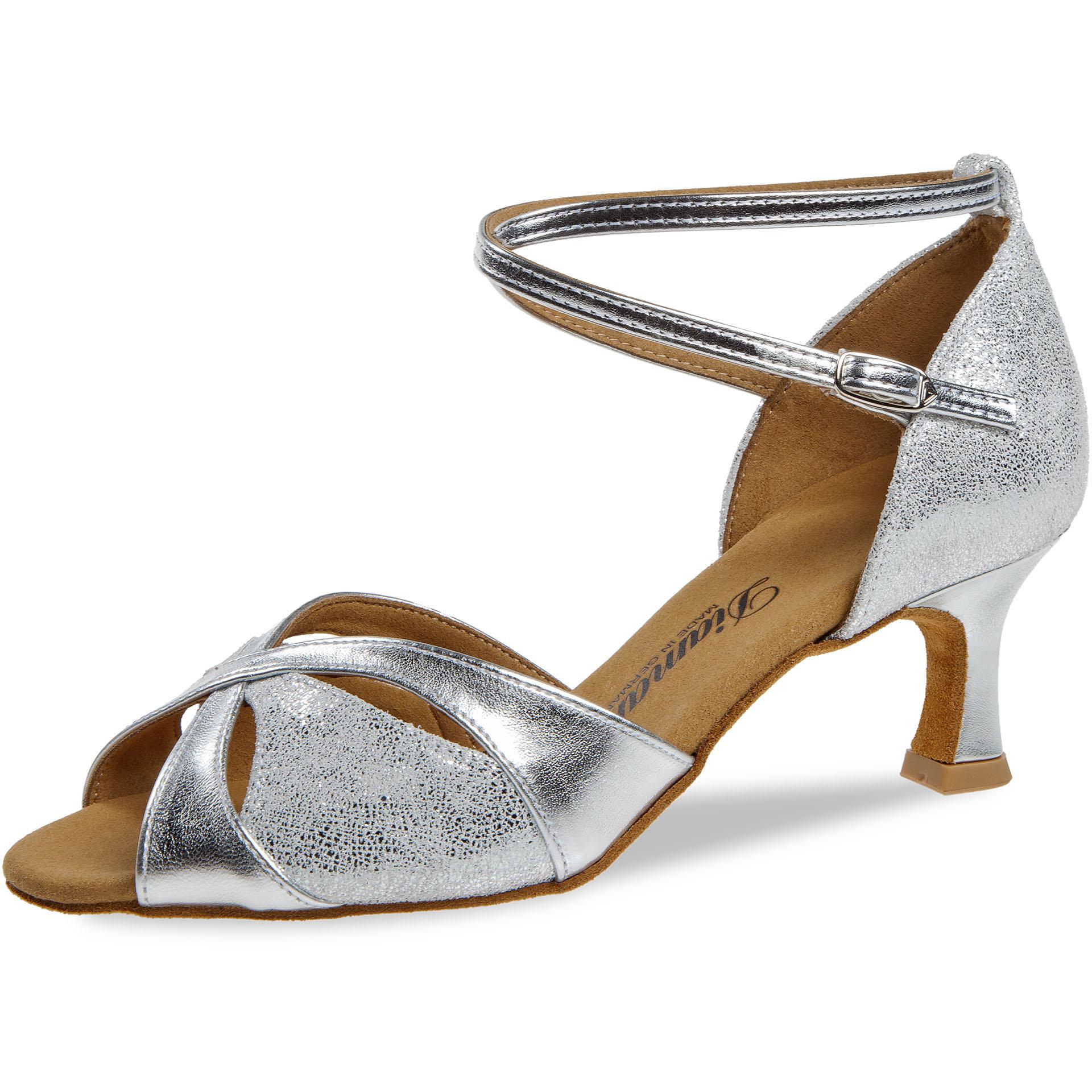 Diamant Ladies Dance Shoes 141 077 463 Silver