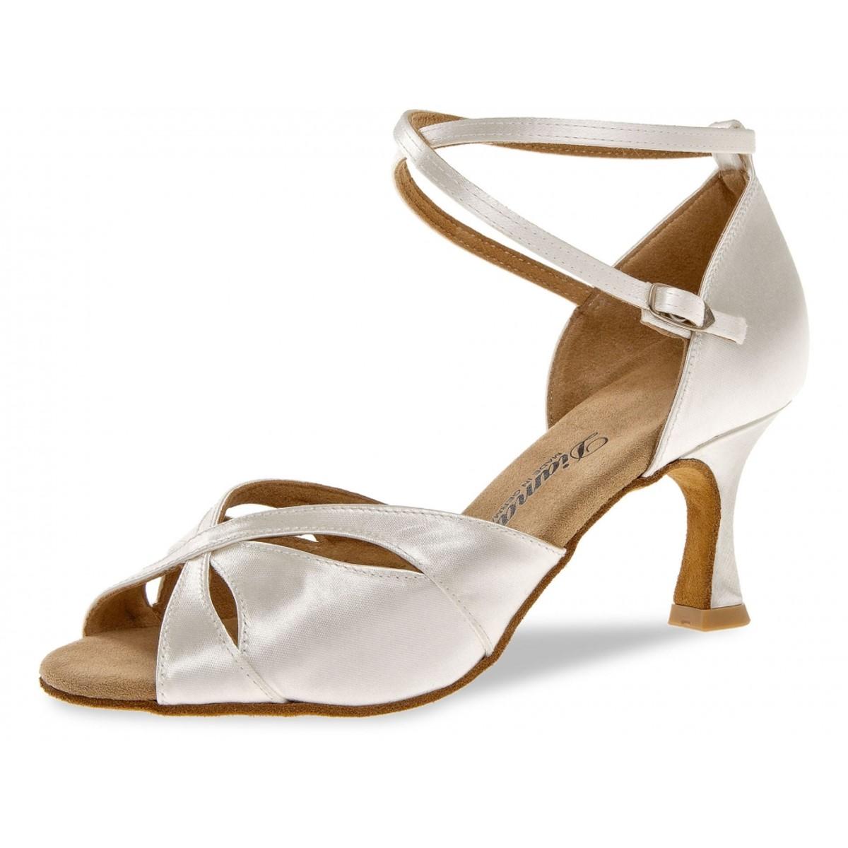 Diamant Ladies Dance Bridal Shoes 141 087 092 White